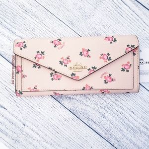 Coach Floral Bloom Soft Wallet